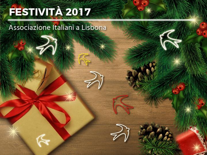 Festività 2017 - chiusura natalizia