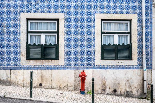 Azulejos Lisbona Portogallo