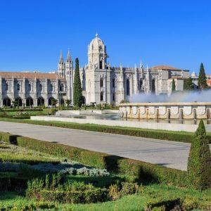 Piazza Monastero Jeronimos - Lisbona, Portogallo