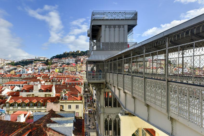 Tour Lisbona con guida in italiano - Elevador de Santa Justa