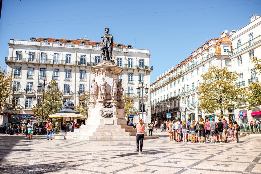 Tour Lisbona guita italiano gruppo