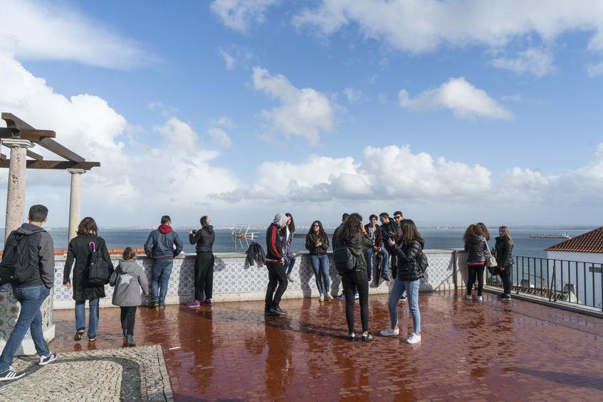 Tour Lisboa - Miradouro Santa Lucia